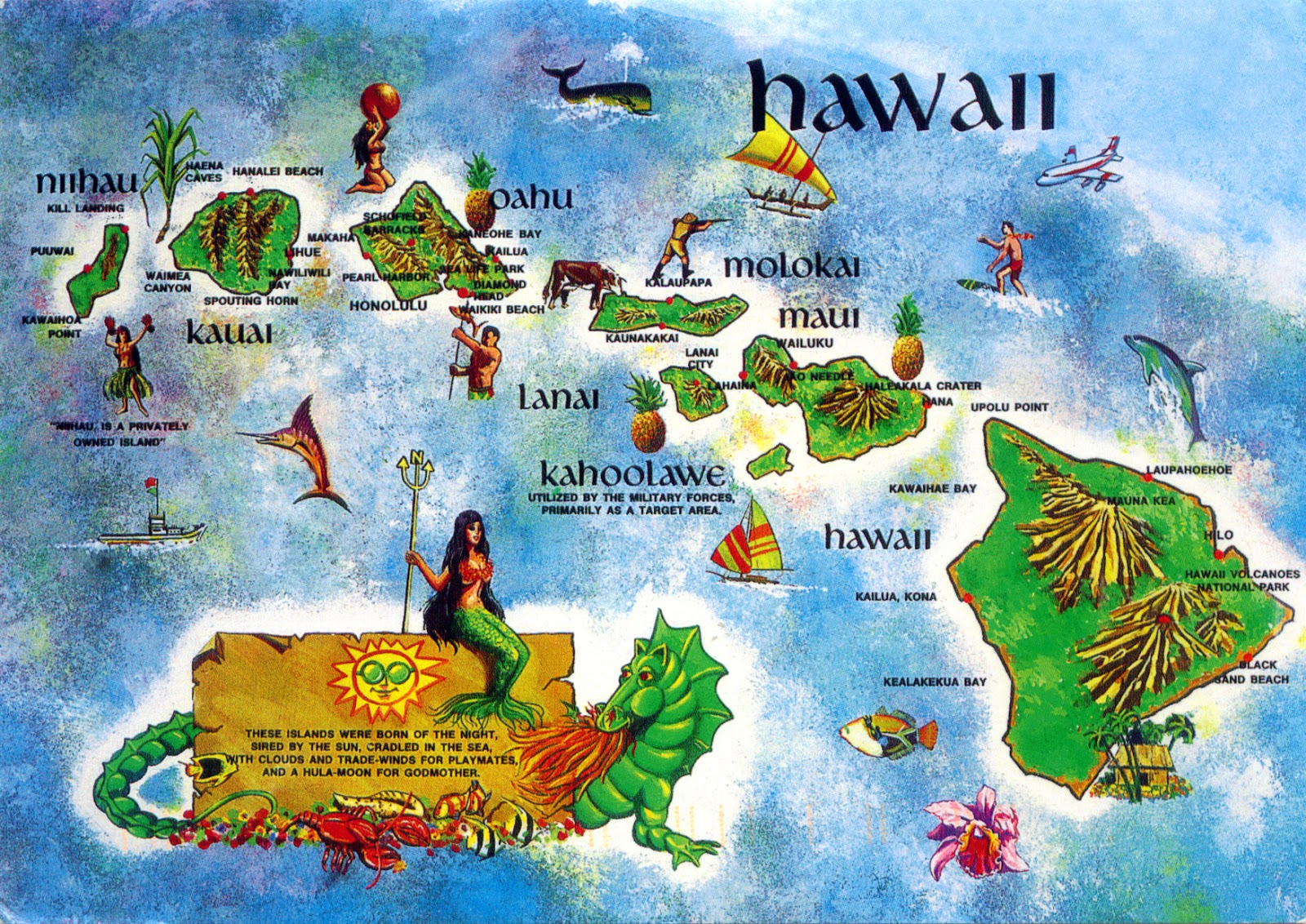 (Hawaiian Islands)